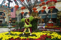 Bellagio Flower Garden In Las Vegas