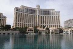 Bellagio Hotel & Casino Exterior In Las Vegas