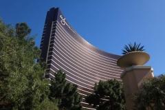Wynn Hotel & Casino Exterior In Las Vegas