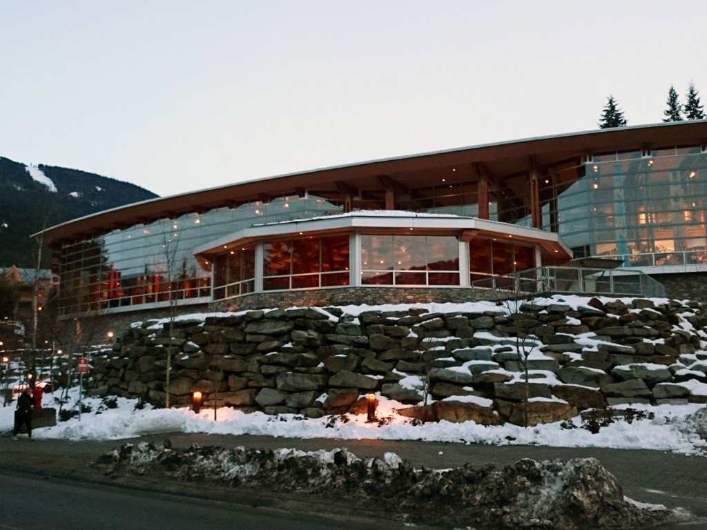 Squamish Lilwat Cultural Centre Exterior