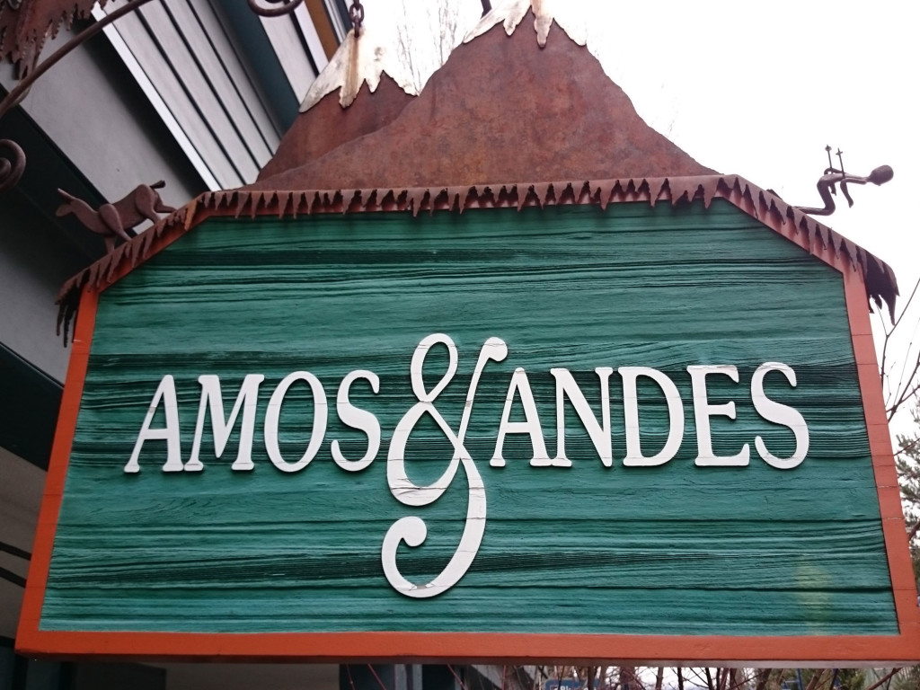 Amos & Andes The Whistler Sweater Shop