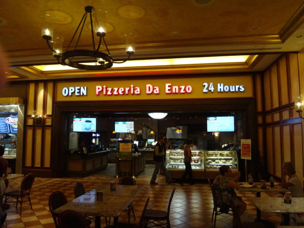 Pizzeria Da Enzo Venetian Las Vegas