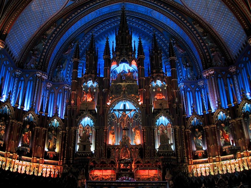 Notre Dame Basilica Montreal Interior