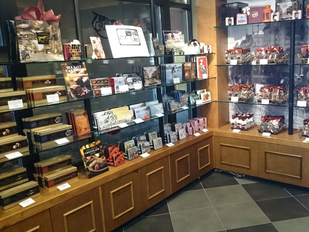 Rogers Chocolates Whistler Interior