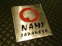Sushi Nami Japanese Restaurant Menu