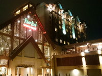 River Rock Casino Resort Exterior Night