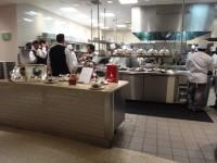 Open Kitchen At Paris Tower Restaurant