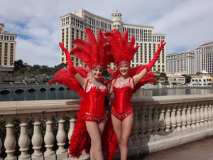 Las Vegas Strip Show Girls