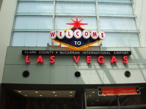 Las Vegas Nevada USA Airport Sign