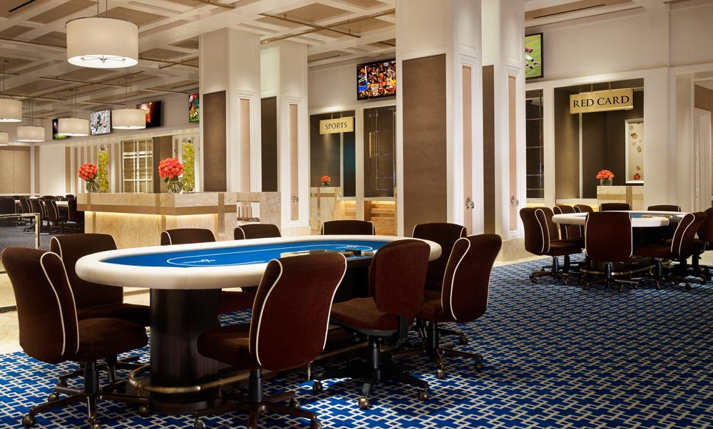 Wynn hotel casino las vegas opens new poker room for Wynn hotel decor
